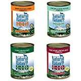 4 Cans ONly Natural Balance L.I.D. Limited Ingredient Diet Canned Dog Food Variety Pack - Chicken Sweet Potato - Lamb Brown Rice - Fish Sweet Potato - & Boar Brown Rice (13.2 oz. x 4 cans)