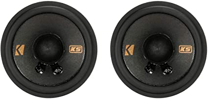 Kicker 47KSC2704 Car Audio KSC Series 200W Peak 2 3//4 Mid Tweeters /& Brackets