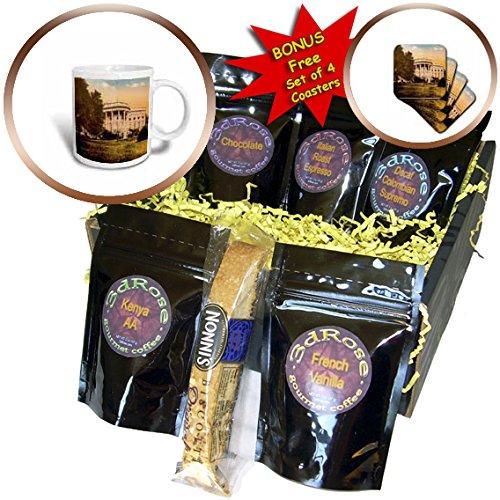 Scenes from the Past Magic Lantern - Vintage Magic Lantern United States White House Washington DC - Coffee Gift Baskets - Coffee Gift Basket (cgb_246359_1) (Washington Dc Gift Basket)