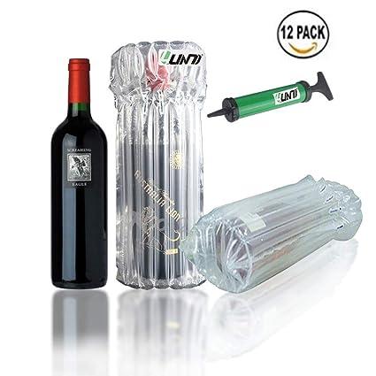 Bottle Bubble cushion Wine Wrap Protector Sleeves Cushion Bubble Pack Wrap Pump