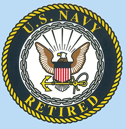 - United States Navy Retired Seal Car Decal US Navy Gifts Military Products