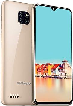Ulefone Note 7 Smartphone Libre Cámara Trasera Tres 8Mp+2Mp+2Mp ...