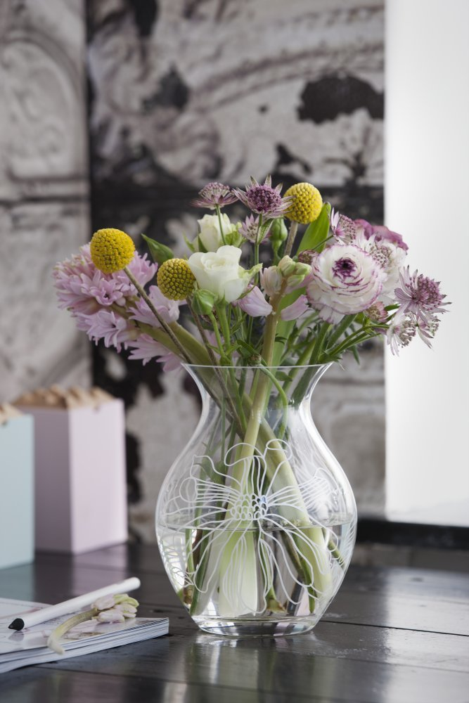 Rosandahl - Saga Saga Saga Magnolie Vase, Höhe 19 cm B00IPC1KGI Vasen 1d0e62