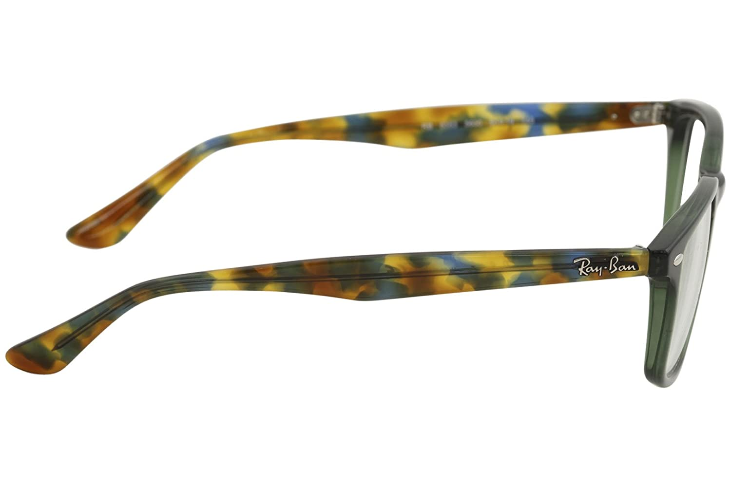 b96cd377a8 Amazon.com  Ray-Ban Men s RX5353 Eyeglasses Opal Green 50mm  Clothing