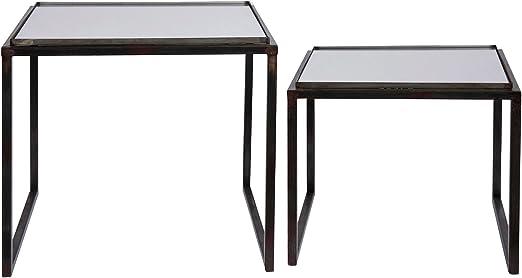 Côté Table Lado Mesa 27589 diseño de Cuadrados de Mesa Hierro y ...