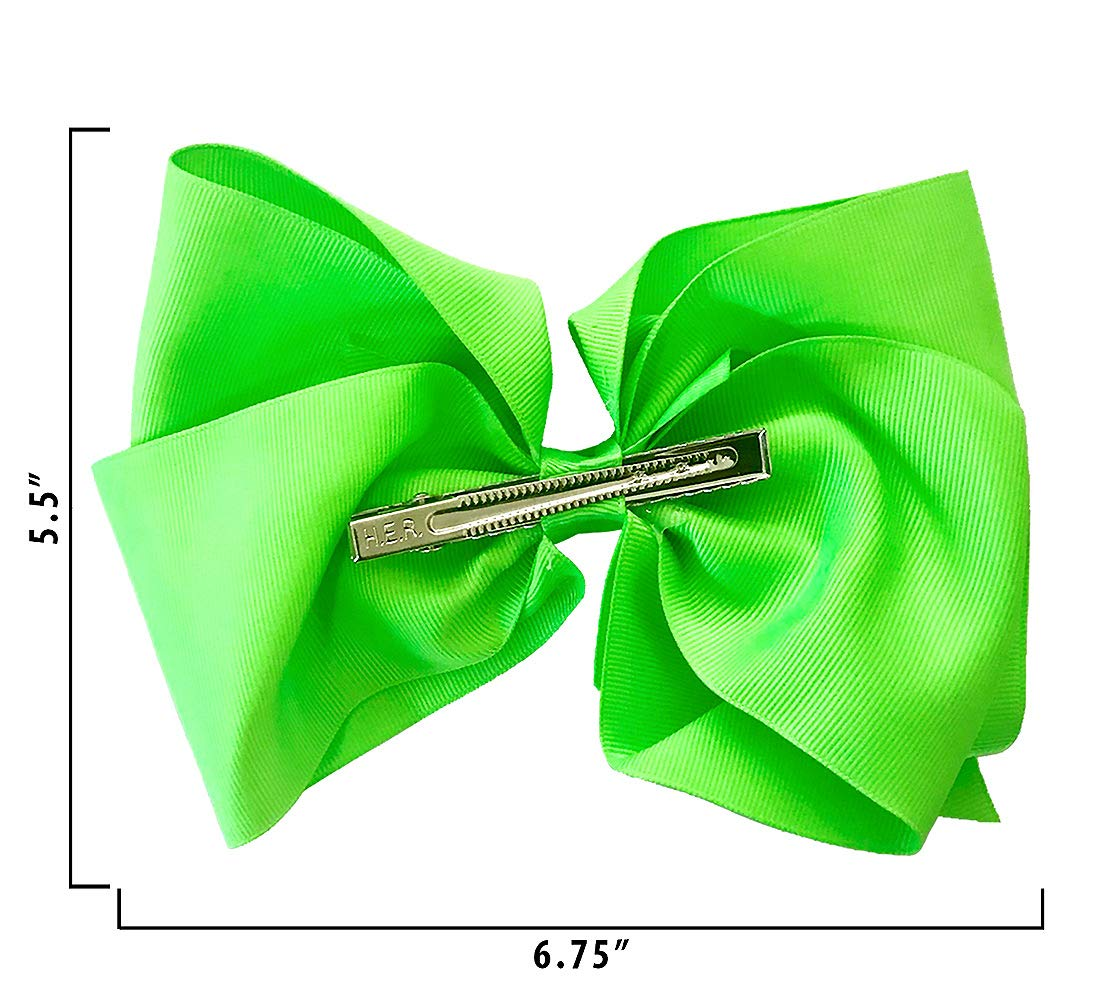 Warp Gadgets Bundle - JoJo Siwa Beauty Cosmetic Set and White Rhinstone and Neon Green Basic Bows on Metal Salon Clip (3 Items) by Warp Gadgets (Image #6)
