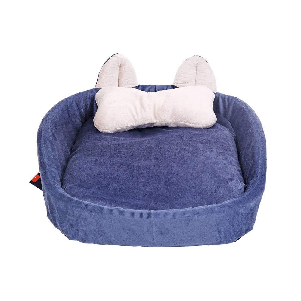 S PLDDY pet bed Pet Bed,Pet, Pet Nest, Kennel, Washable, Dog Bed, CatLitter (Size   S)