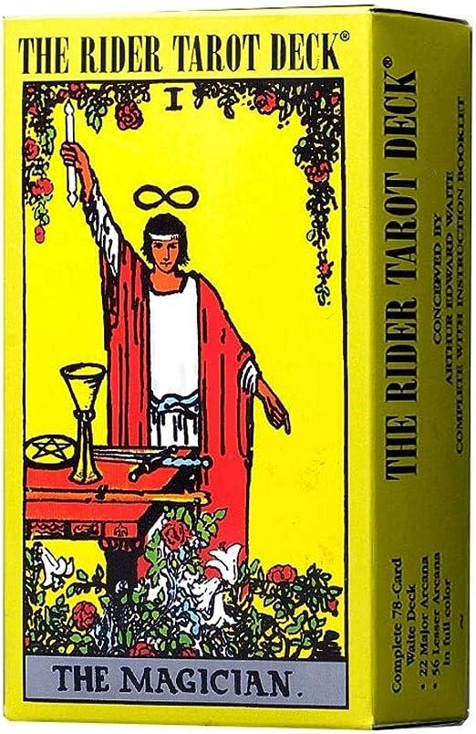 JJSFJH Mitología clásica Cartas del Tarot Mazo de Principiante Vintage 78 Cartas Juego de Contar el Futuro en Caja Colorida Mazo de Tarot Desconocido Salvaje: Amazon.es: Hogar