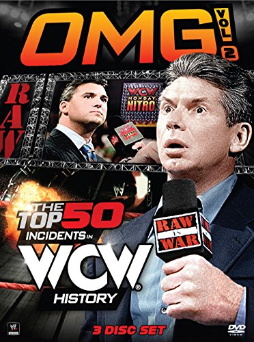 WWE: OMG! Volume 2 - The Top 50 Incidents in WCW History (Wwe Omg Top 50 Incidents In Wwe History)