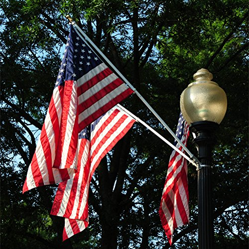 A One 5ft Tangle Free Spinning Flagpole Deluxe Aluminum