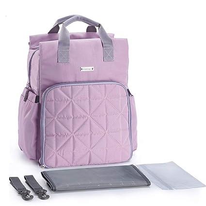 Amazon.com: Bebe 1st Bolsa de pañales para bebé, mochila con ...