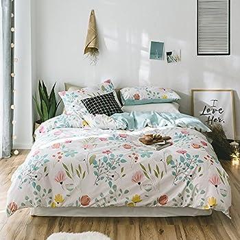 Amazon.com: VClife Soft Cotton Duvet Cover Sets Boho Retro