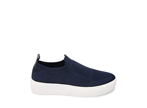 72062a8fab9 Steve Madden Women s Beale Navy Athletic ...