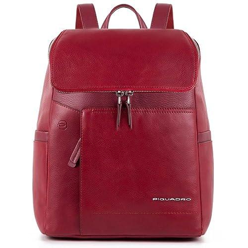 10406bb0cc Piquadro Cary Zaino, Donna, Rosso: Amazon.it: Scarpe e borse
