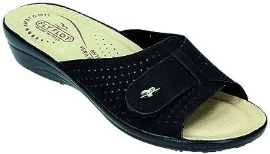 bda33a93d95b Fly Flot Women s Clogs Black Black  Amazon.co.uk  Shoes   Bags
