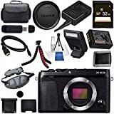 Fujifilm X-E3 XE3 Mirrorless Digital Camera (Black) 16558530 + 32GB SDHC Card + Carrying Case + Micro HDMI Cable Bundle