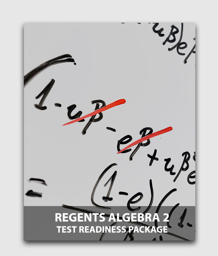 Regents Algebra II (5-Pack) - Test readiness package (Online test) [Online Code]
