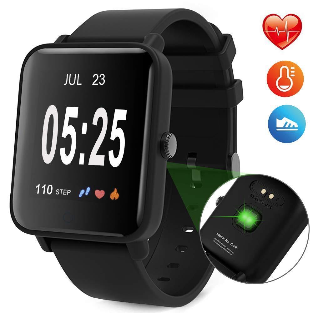 Macrourt Smartwatch Inteligente,IP68 Impermeable Reloj ...