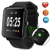 Macrourt Smartwatch Inteligente,IP67 Impermeable Reloj Deportivo