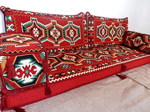 Jalsa,majilis,arabic seating,arabic cushions,arabic couch,oriental furniture,oriental seating,floor cushions,floor seating,kilim sofa set - MA 38