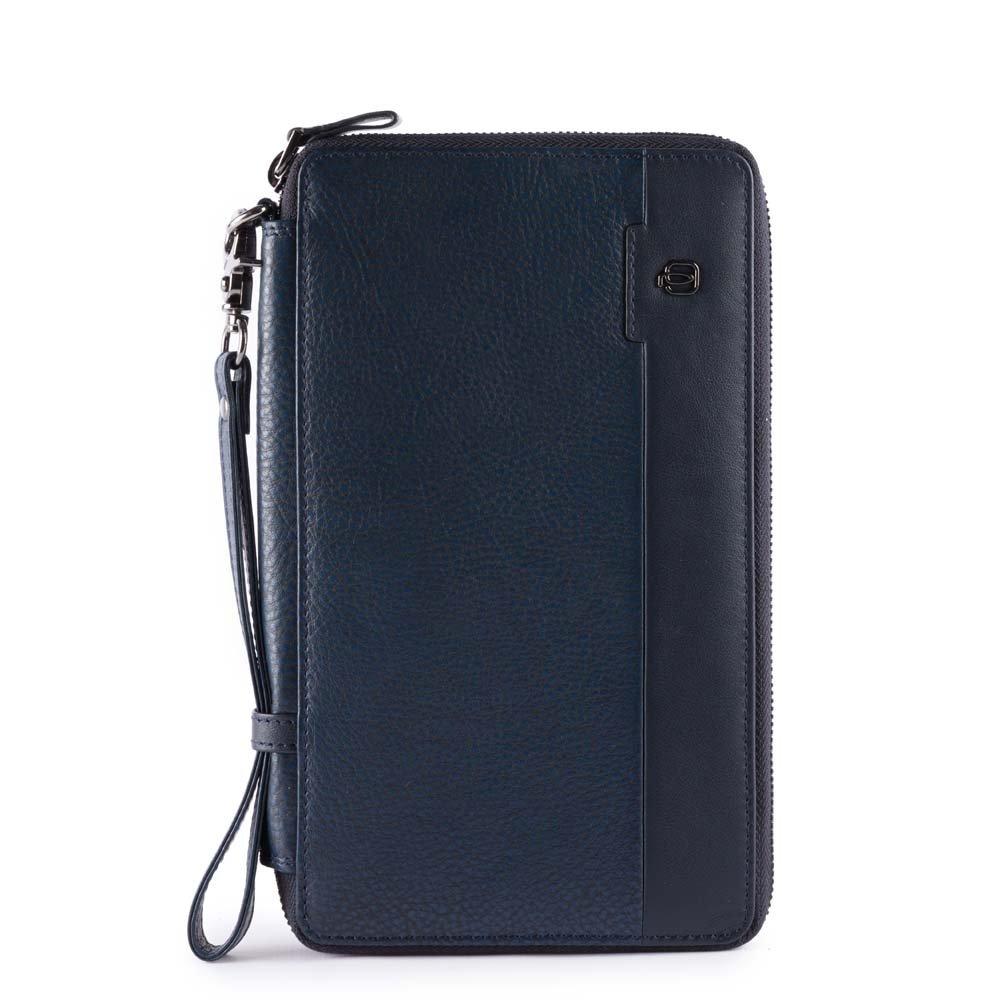 Piquadro Line ID Case, 22 cm, Blue (Blu)