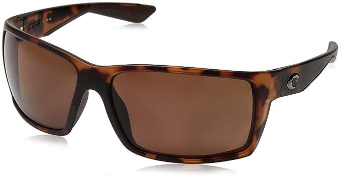 06986f2802c8d Costa del Mar Men s Reefton Polarized Rectangular Sunglasses