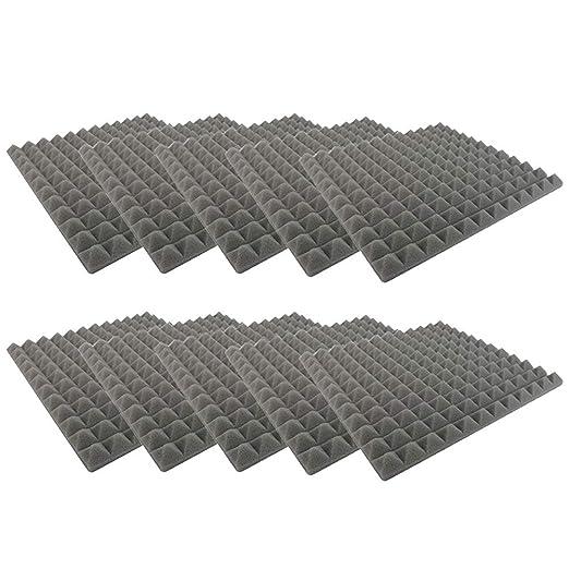 Baifeng 10Pcs Panel de Tratamiento de absorción de Sonido de ...