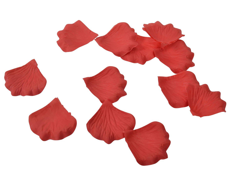 AshopZ 500pcs Artificial Silk Rose Flower Petals Wedding Party Decor Bulk Ivory AX-AY-ABHI-102264
