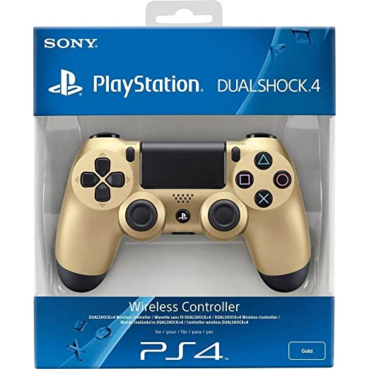 1508 opinioni per PlayStation 4: Dualshock Controller, Gold- Special Limited
