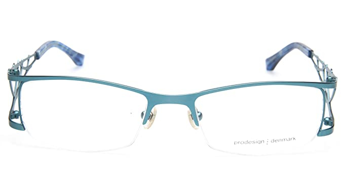 ef5eb434c4 Image Unavailable. Image not available for. Color  NEW PRODESIGN DENMARK  5120 c.8521 TURQUOISE EYEGLASSES FRAME 52-18-132 B30