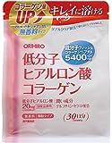 オリヒロ 低分子ヒアルロン酸 コラーゲン袋タイプ 180g