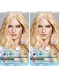 L'Oreal Paris Feria Permanent Hair Color, 100 Pure Diamond...