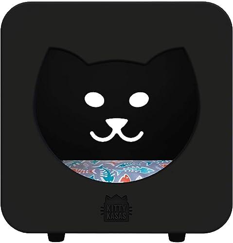 Kitty Kasas Standard Snap-On Modular Cat House, Bedroom Cube