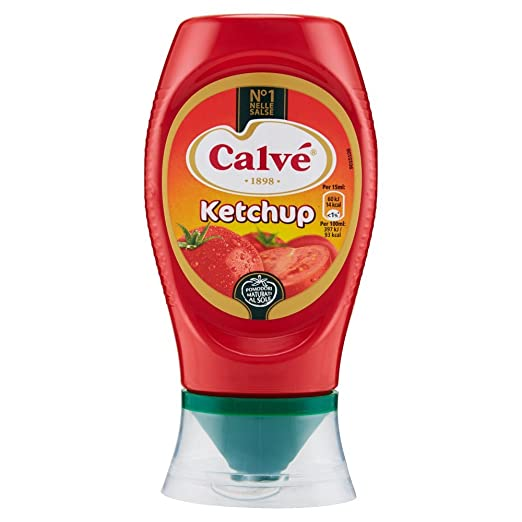 13 opinioni per Calvè Top Down Ketchup- 9 pezzi da 250 ml [2250 ml]