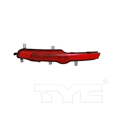 TYC 17-0305-00-1 Compatible with Kia Sportage Right Replacement Reflex Reflector: Automotive