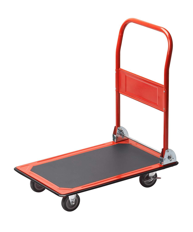 Meister 8985400 Plataforma de Carga, Rojo