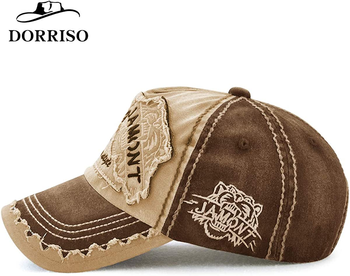 DORRISO Fashion Men Women Baseball Cap Adjustable Sports Travel Vacation Leisure Sunscreen Baseball Caps Cotton