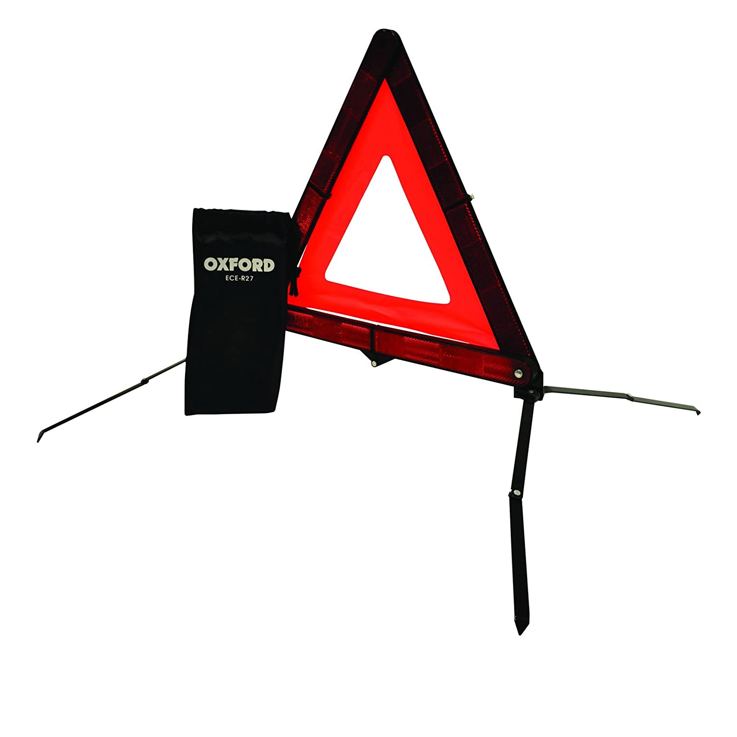 Oxford Compact Energency Warning Triangle - Red OF609
