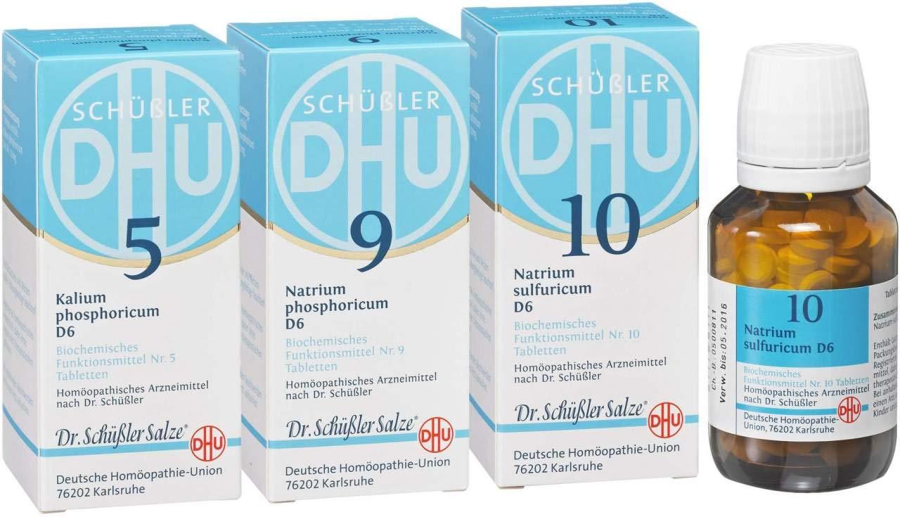 Biochemie Dhu Frühjahrs Kur 3 X 80 Tabletten Amazonde Drogerie