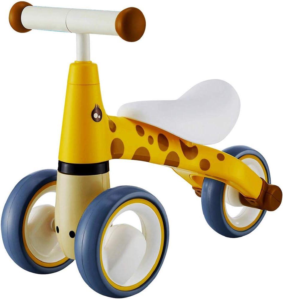 Baby Balance Bike-Baby Bike de 6 a 24 Meses,sin Pedal, Primera Bicicleta,Regalo de cumpleaños,Juguete de Paseo Seguro niño de 1 año de Edad,Ideal para bebé