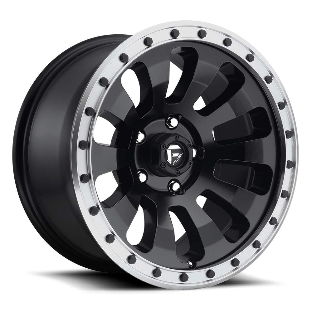 20x9 FUEL Tactic D629 Matte Black Machined 6x5.5 20 offset
