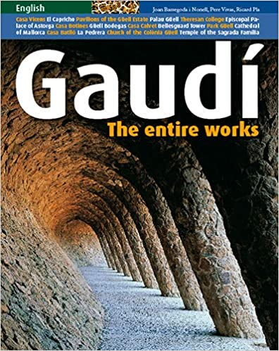 Gaudi: The Entire Works: Pere Vives, Ricard Pla: 9788484782797: Amazon.com: Books
