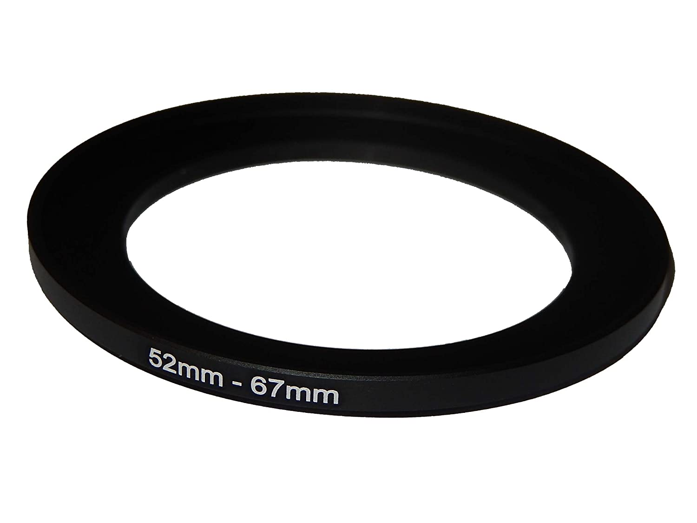 vhbw Adaptador de Filtro Step-UP de 49mm-77mm para Canon Casio Pentax Olympus Panasonic Sony Nikon Ricoh Sigma Tamron Samsung Agfa Minolta Kodak