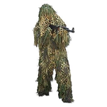 27c206f29c6 Mil-Tec Camouflage Ghillie Jackal Jungle Camouflage: Amazon.fr ...