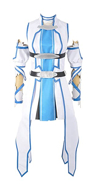 160f1e1eba5 Nueva Sao Sword Art Online 2 Asuna Yuuki Traje de Cosplay: Amazon.es: Ropa  y accesorios