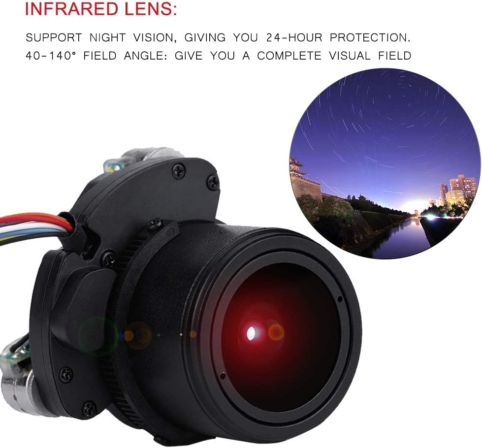 3MP High Definition MTV Night Vision IR Board Lens for Security IP Camera fosa CCTV Security Camera 2.8-12mm Automatic Zoom Focus
