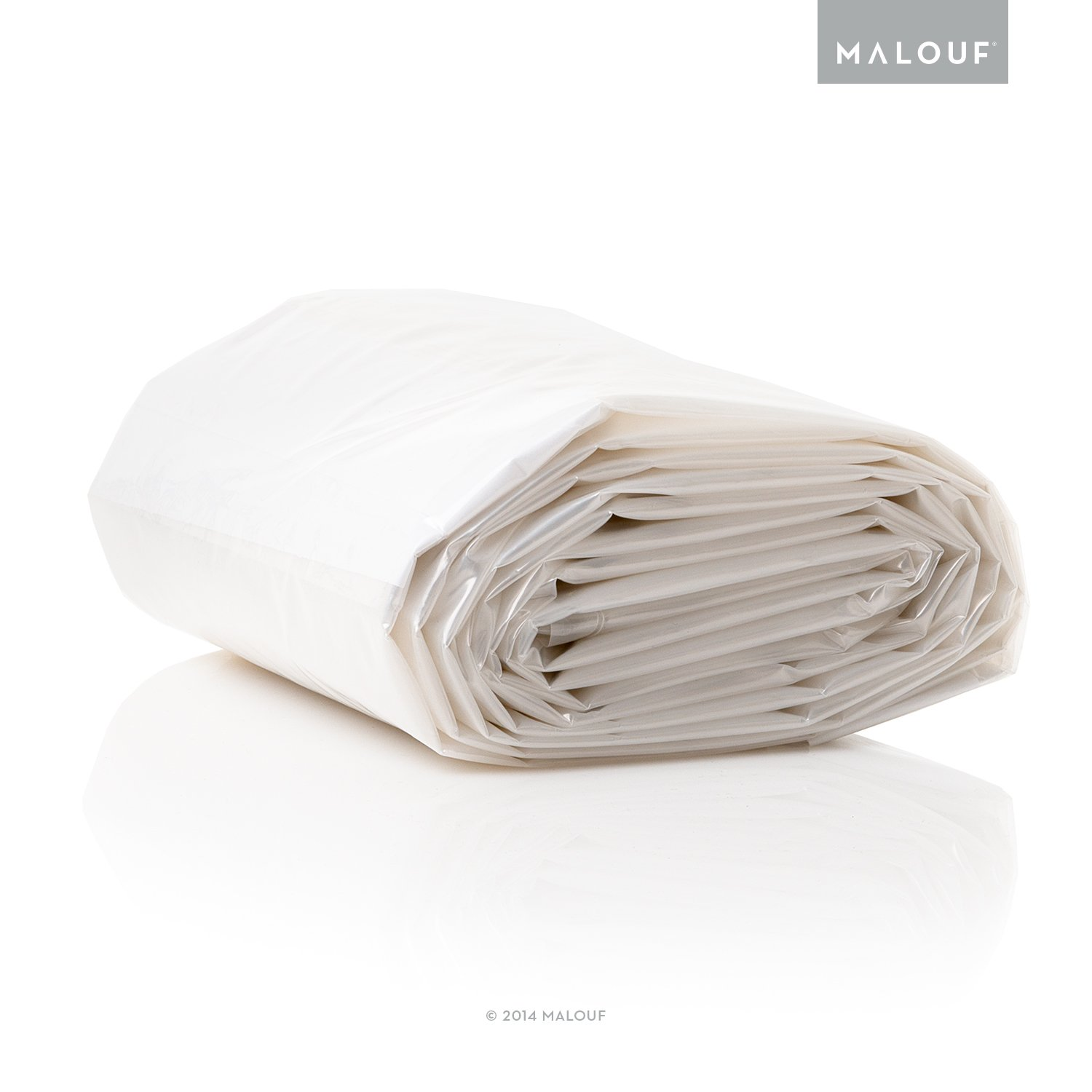 Full//Queen MALOUF SL00QQMB Protects Your Mattress While Moving or in Storage Seal TITE Heavy Duty Sealable Mattress Storage Bag