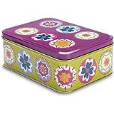 Cooksmart Suzani B - Boîte rectangulaire à gros motifs, multicolore
