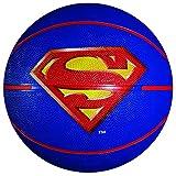 Franklin Sports Mini Rubber Basketball, Superman