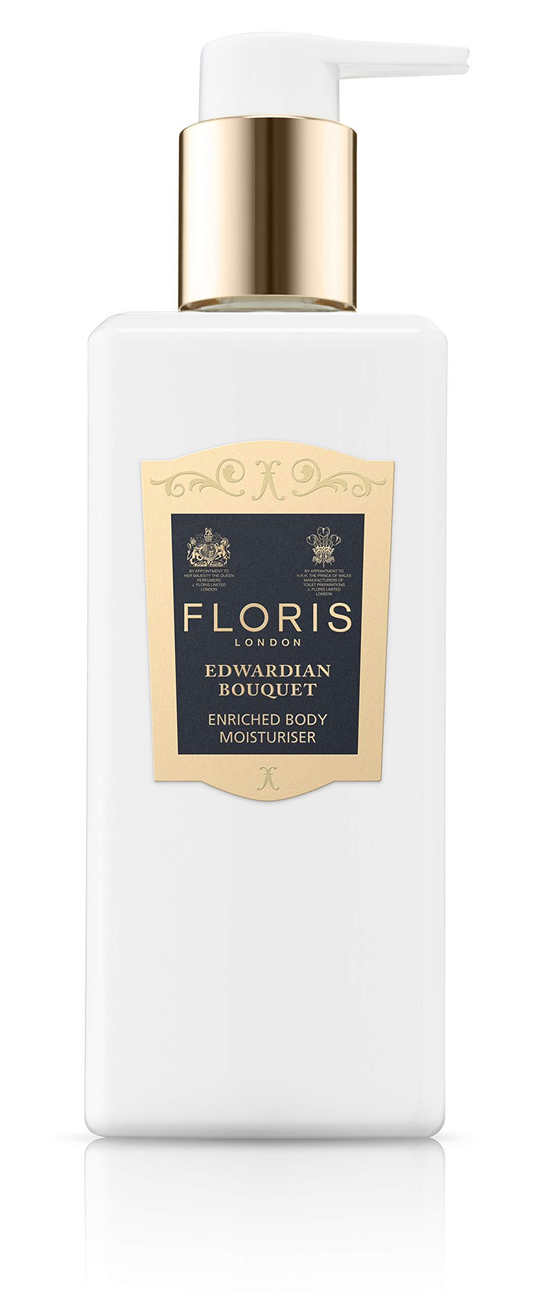 Floris London Edwardian Bouquet Enriched Body Moisturiser, 8.5 Fl Oz